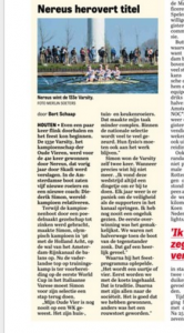 De Telegraaf, 11 april 2016